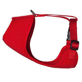 Arppe Rotes Neoprengeschirr (Hunde , Für den Spaziergang , Geschirr)