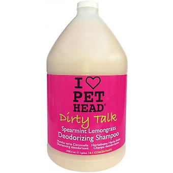 Pet Head Dirty Talk Deodorizing Shampoo 3,79 L. (Dogs , Grooming & Wellbeing , Shampoos)