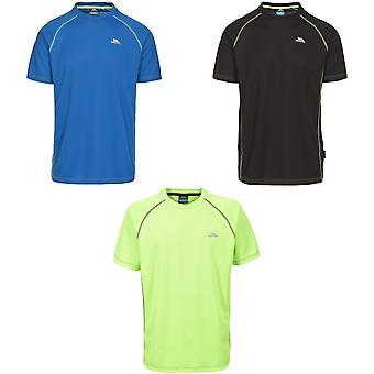 Trespass Mens Ethen Short Sleeve Active T-Shirt
