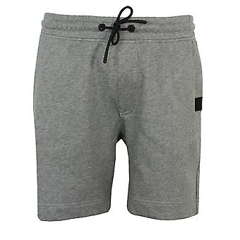 Hugo boss men's skoleman grey marl shorts