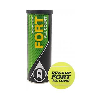 Dunlop Fort All Court Tennis Balls Tube of 4