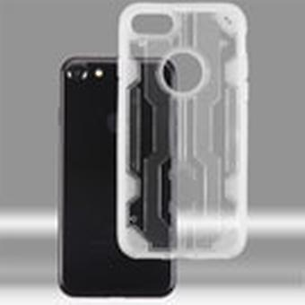 Boîtier hybride Asmyna Chali pour iPhone SE2/8/7 - Transparent Clear/Transparent Clear