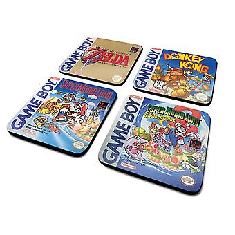 Game Boy Classic Collection Underlägg 4-Pack