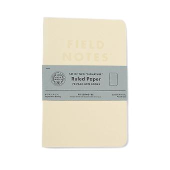 Field Notes Signature 2 pack Ruled Notebooks