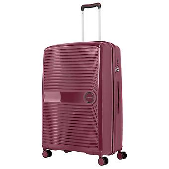 travelite Ceris Trolley L, 4 rollen, 78 cm, 100 L, Donkerrood