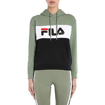 Fila 687042a437 Kvinder's Grøn Bomuld Sweatshirt