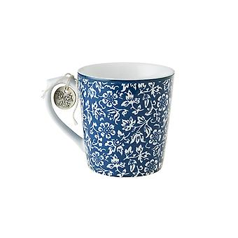 Laura Ashley Mug, Sweet Alyssum