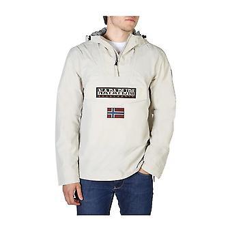 Napapijri - Clothing - Jackets - RAINFOREST_NP000HC0H361 - Men - Silver - S