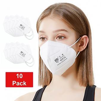 10 Pack Kn95 9051a Munskydd Ansiktsmask