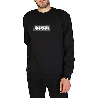 Man cotton long sweatshirt round t-shirt top n64087