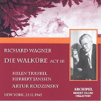 ワーグナー/トラウベル - 死ぬワルキューレロマンツェ Akt 3: トラウベル [CD] USA 輸入