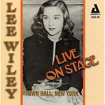 リー ・ ワイリー - ライブ ステージ市庁舎ニューヨーク [CD] USA 輸入