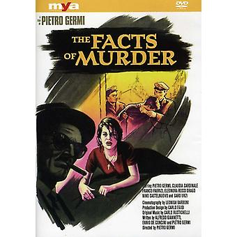 Facts of Murder [DVD] USA import