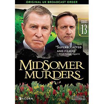 Importación de los E.e.u.u. 13 de la serie de asesinatos de Midsomer [DVD]