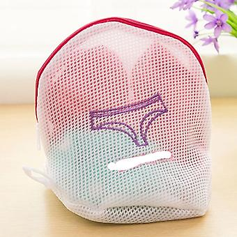 Zippered Mesh Laundry Wash Bags Foldable Delicates Lingerie Bra Socks Underwear Washing