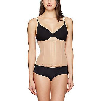 Arabella Women's Firm Control Waist Cincher with Boning Shapewear, Nude, Small