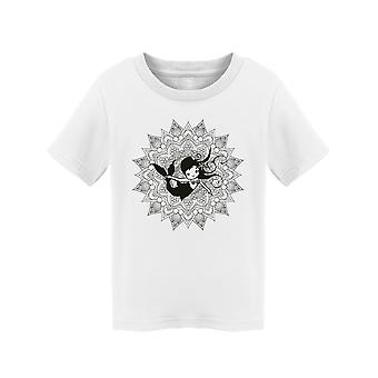 Cute Mandala Mermaid Tee Toddler's -Image by Shutterstock
