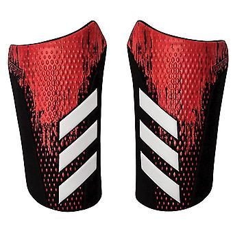 adidas Predator 20 Compétition Football Shinguard Shin Pad Rouge/Noir