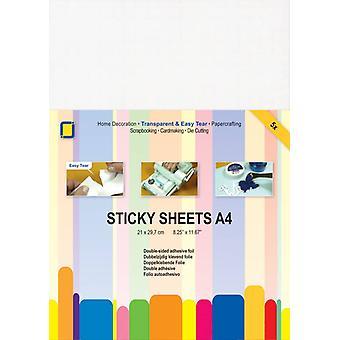 JEJE Produkt Sticky sheets A4 5 sheets