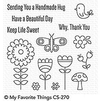Meine Lieblings-Dinge schönen Tag klar Briefmarken