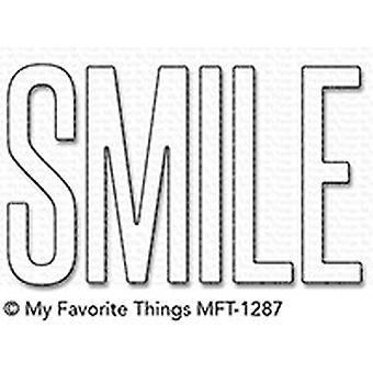 Le mie cose preferite sorridono Die-Namics