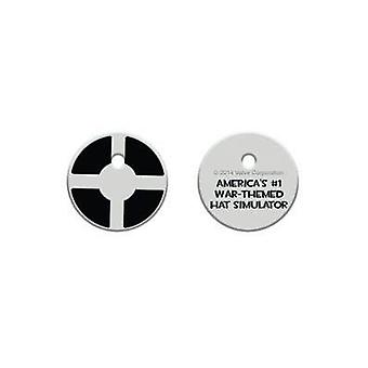 Key Cap-Team Fortress 2-emblem nye legetøj licenseret TF380