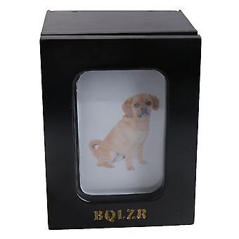 Telescopic Photo Frame Pet Dog Urn Ashes Box 165*125*120mm