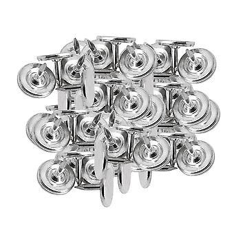 100pcs Silver Color Flat Push Pin Thumb Nails 9*8mm