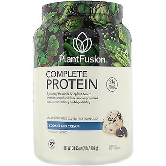 PlantFusion, Complete Protein, Cookies and Cream, 2 lb (900 g)