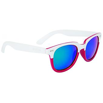 Sunglasses Unisex Wanderer Cat.3 White/Red (006)
