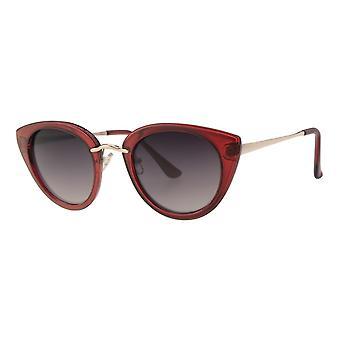 Sunglasses Women's Femme Kat. 3 Butterfly red (L6572)