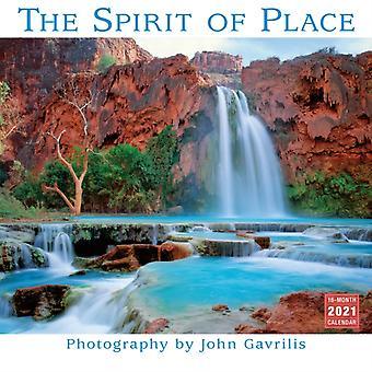 The Spirit of Place  Wall Calendar 2021 by Photographs by John Gavrilis