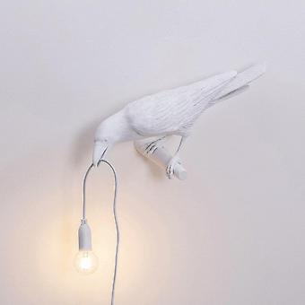 Designer Crow Bird Design, Nordic Table/wall Led Lamp-art Sisustus