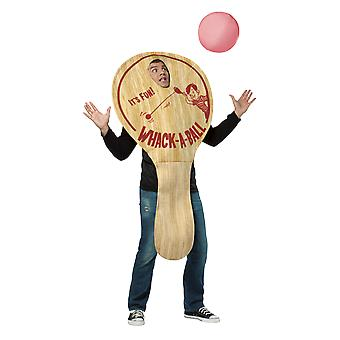 Mens Paddle Ball Jeu Novelty Stag Night Funny Fancy Dress Costume