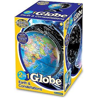 Eureka legetøj 2 i 1 Globe jorden og konstellationer