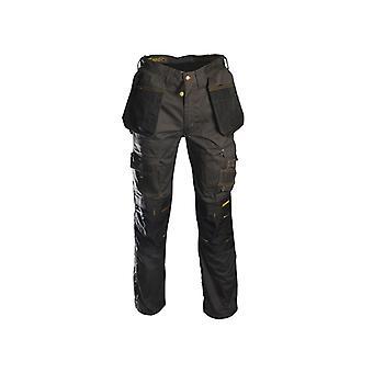 "Roughneck Black & Grey Holster Work Trousers Waist 36"" Leg 31"" RNKBGHT3631"