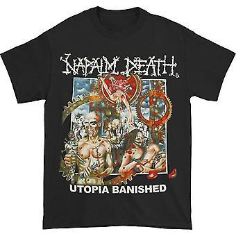 Napalm Death Utopia Karkotettu T-paita