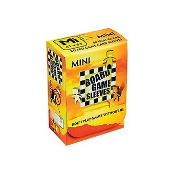 Brettspill 50 Ikke-Blending Ermer Mini - Passer Kort på 41x63mm (Pakke med 10)