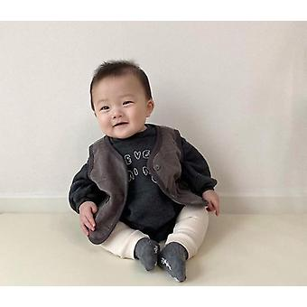 Autumn New Baby Vest And Clothes Tops, Jackets, Coat