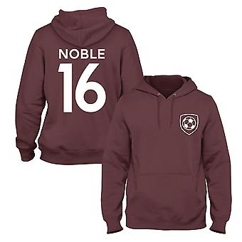 Mark Noble 16 West Ham Style Player Football Hoodie