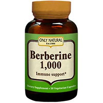 Only Natural Berberine 1000, 1000 mg, 50 vcaps