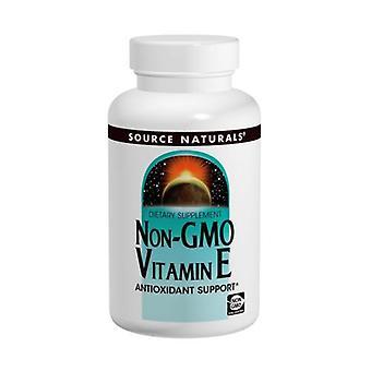 Quelle Naturals Vitamin E Non-GMO, 400 I.E., 60 Tabletten