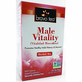 Bravo Tea & Herbs Male Vitality Tea, 20 Bags