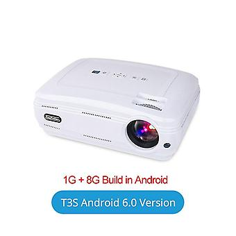 T3 4500 lúmenes Led Data Show Hd Tv Projector Vga Usb Hdmi 720p Home Cinema