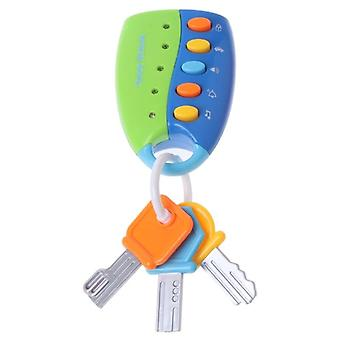 Baby Toy Musical Car Key Smart Remote Voices Pretend Play Education