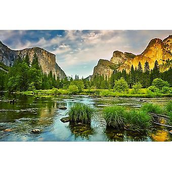 Parque Nacional Mural Yosemite