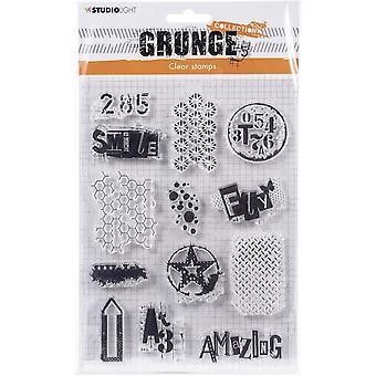 Studio Light Grunge 3.0 Kokoelma A5 Leima-NR. 408