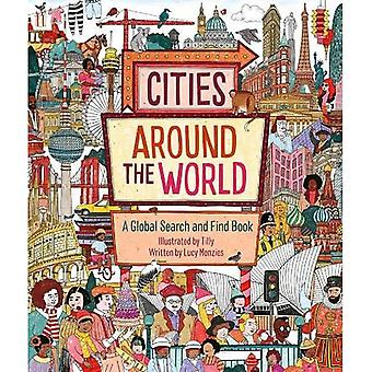 Cities Around the World: A� Global Search and Find Book