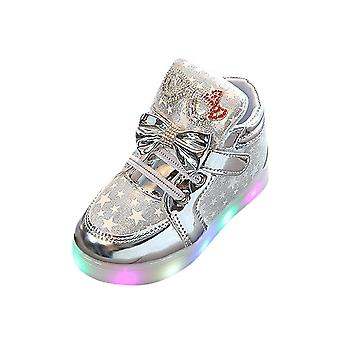 Children Star Luminous Casual Colorful Light Shoes Sneakers