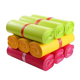 Sacos expressos impermeáveis coloridos, pacote de entrega descartável para entrega, correio